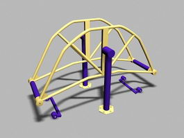 Adult Outdoor Playground Equipment 3d preview