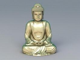 Buddha Statue Nirvana 3d preview