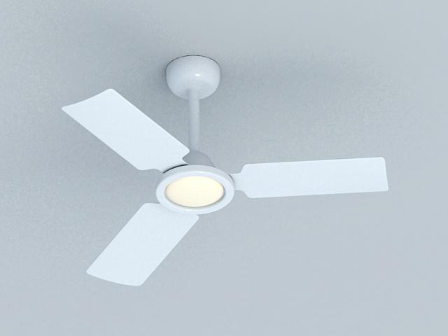 Modern Ceiling Fan 3d rendering