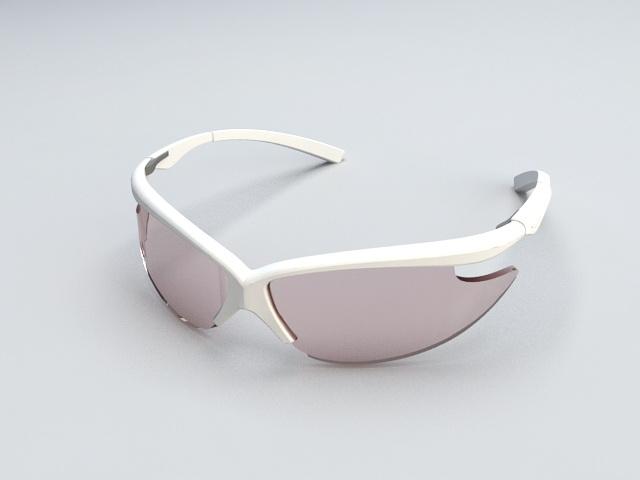 Cute Sunglasses 3d rendering