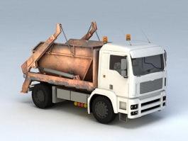 Dumpster Hauler Truck 3d preview