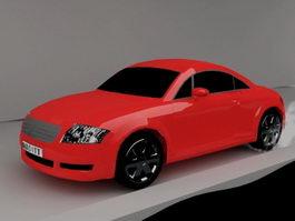 Audi TT Coupe 3d preview