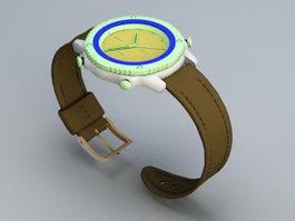 Wrist Watch 3d preview