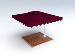 Outdoor Patio Umbrella 3d preview