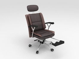 Comfortable Office Chair 3d preview