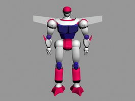 Cartoon Robot 3d preview