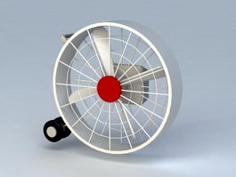 Industrial Fan 3d preview