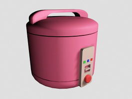 Old Rice Cooker 3d preview