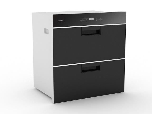 Kitchen Sterilizer 3d rendering