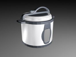 Electric Pressure Cooker 3d preview