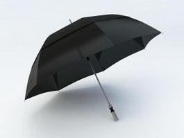 Black Umbrella 3d preview