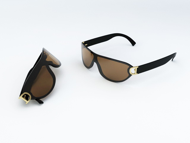 Cool Sunglasses 3d rendering