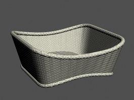 Laundry Basket 3d preview