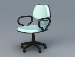 Ergonomic Desk Chair 3d preview