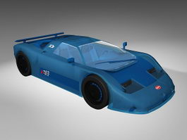 Bugatti 11GB 3d preview