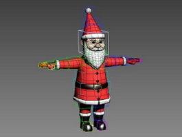 Santa Claus Rig 3d preview