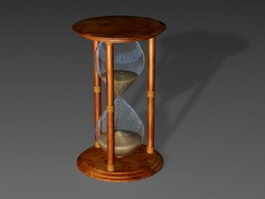 Antique Hourglass 3d preview
