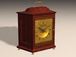 Antique Mantel Clock 3d model preview