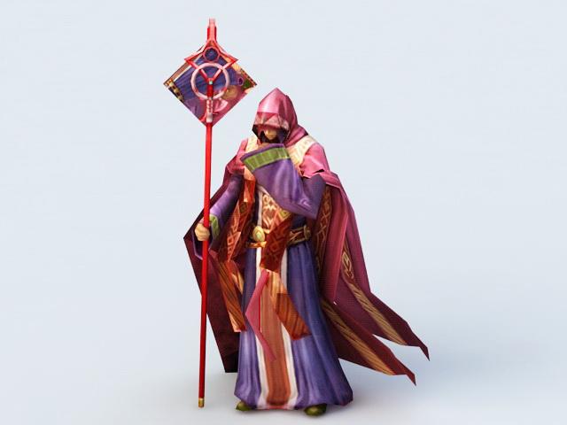 Red Sorceress Rig 3d rendering