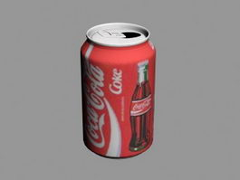 Coca-Cola Can 3d preview