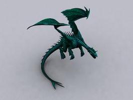 Green Dragon 3d preview