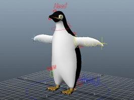 Penguin Rig 3d preview