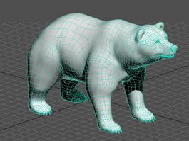 Polar Bear 3d preview