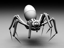 Robot Spider 3d preview