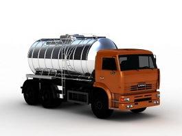 Oil Tanker Truck 3d preview