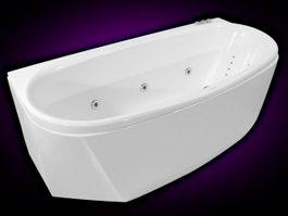 Whirlpool Bathtub 3d preview