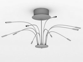 Contemporary Chandeliers 3d preview
