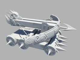 Ballista Catapult 3d preview