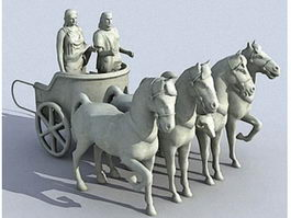 Roman War Chariot 3d preview