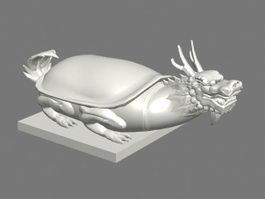 Dragon Head Tortoise 3d model preview