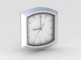 Quartz Clock 3d model preview
