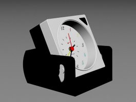 Analog Desk Clock 3d preview