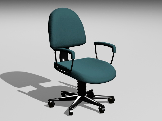 Computer Office Chair 3d rendering