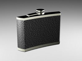 Alcohol Flask 3d preview