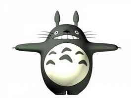 Totoro 3d preview