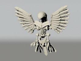 Mechanical Bird 3d model preview