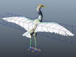 White Swan Rig 3d preview