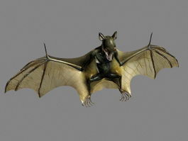 Giant Bat 3d preview