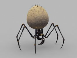 Spider Creature 3d model preview