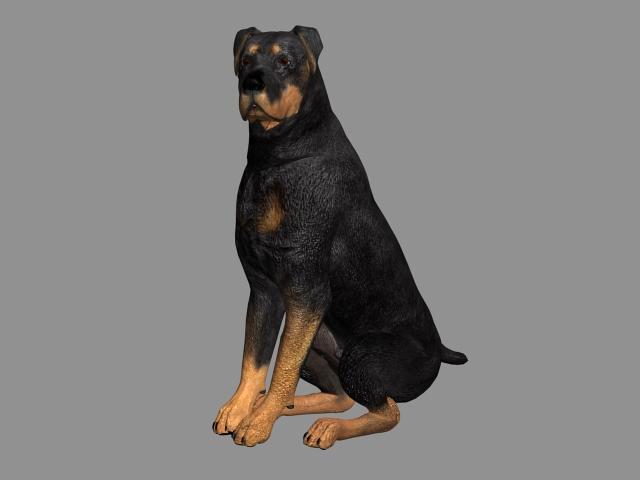 Millennium Dog 3d rendering