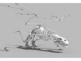 Dragon Skeleton 3d preview