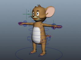 Jerry Mouse 3d preview