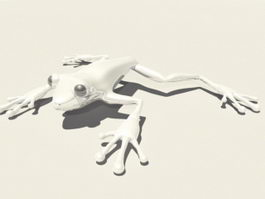 Tree Frog 3d preview