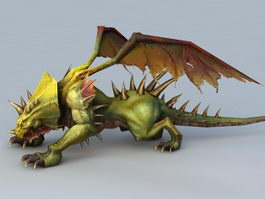 Dragon Creature 3d model preview