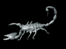 Black Scorpion 3d model preview