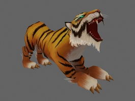 Tiger Animation 3d preview